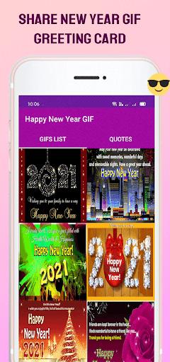 New Year GIF 2022 screenshot 6