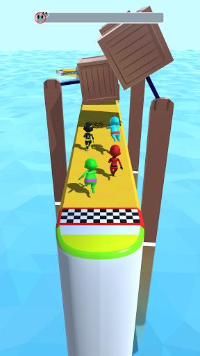 Sea Race 3D - Fun Game Run 3D screenshot 1