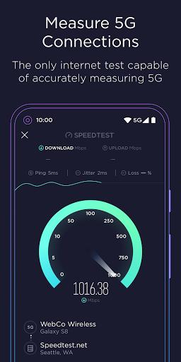 Speedtest oleh Ookla Test Internet Speed screenshot 5
