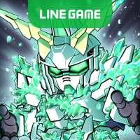 LINE: Gundam Wars! Newtype battle! All the MSes! on 9Apps
