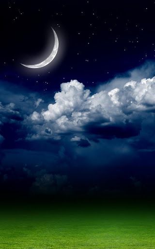 Night Sky Live Wallpaper screenshot 1