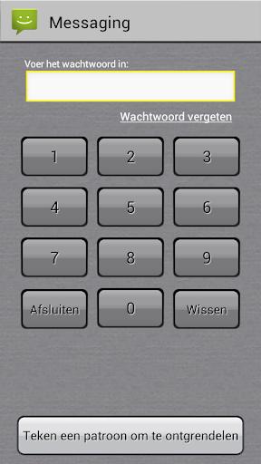 App-vergrendelaar screenshot 2