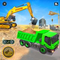 Heavy Excavator Simulator: Road Construction Games on 9Apps