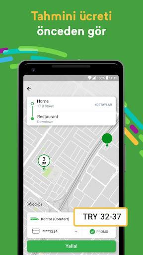 Careem Taksi Çağırma Uygulaması screenshot 3