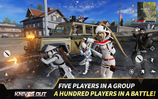 Knives Out-No rules, just fight! screenshot 8