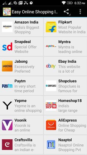 Free Online Shopping India App скриншот 6