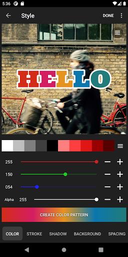 Phonto - Testo su Foto screenshot 6