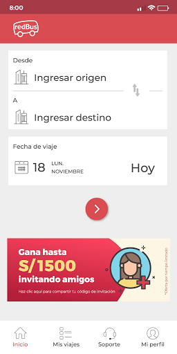 redBus - Pasajes de Bus Online en Perú y Colombia screenshot 5