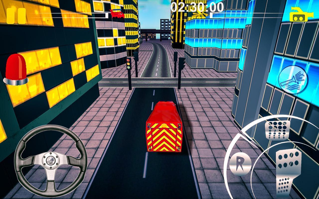 Firefighter-Fire Brigade Truck скриншот 1
