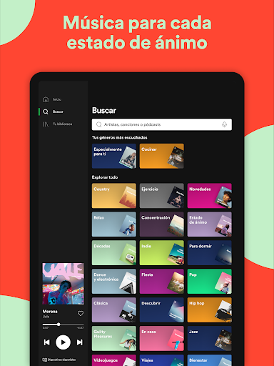 Spotify: música y pódcasts screenshot 13