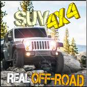 SUV 4x4 - REAL OFF-ROAD on 9Apps