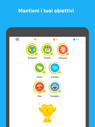 Impara l'inglese con Duolingo screenshot 10