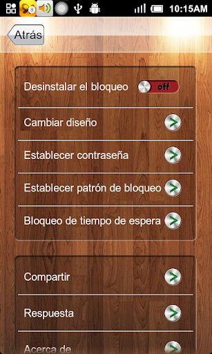 Bloqueo de aplicación screenshot 6