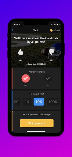 PeerBet - Sports prediction game screenshot 2