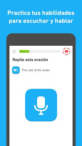 Duolingo - Aprende inglés y otros idiomas gratis screenshot 4