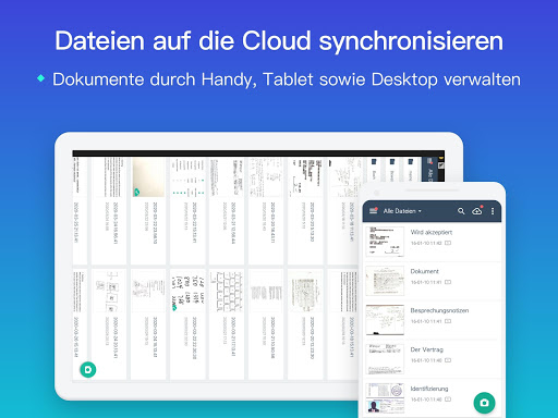 CamScanner-Kostenloser PDF- und Dokumentenscanner screenshot 10