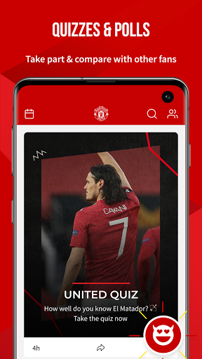 Manchester United Official App स्क्रीनशॉट 6