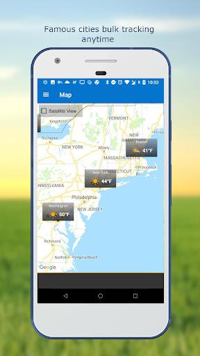 Hava ve saat Widget için Android (Hava durumu) screenshot 7