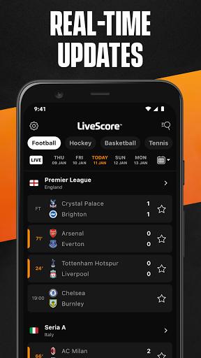 LiveScore: Live Sports Scores screenshot 2