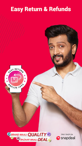Snapdeal Shopping App -Free Delivery on all orders screenshot 7