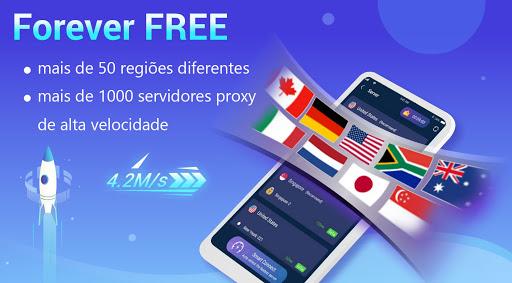 Lightsail VPN seguro y absolutamente gratuito screenshot 1