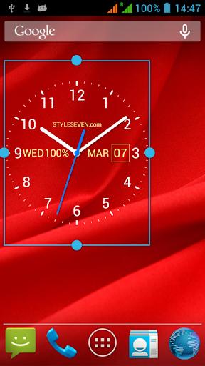 Analog Clock Live Wallpaper-7 screenshot 5