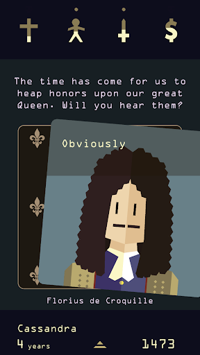 Reigns: Her Majesty screenshot 1