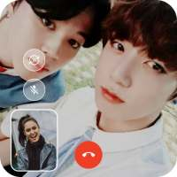 Fake Video Call : B.T.S Call You on 9Apps