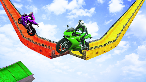 Bike Stunts New Games 2020:Free motorcycle games screenshot 4