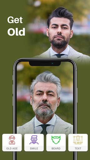 Old Age Face effects App: Face Changer Gender Swap screenshot 2