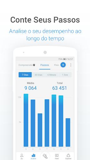 Contador De Passos E Calorias Com Pedômetro screenshot 2