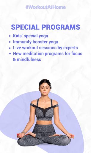 Simple Soulful - Shilpa Shetty: Yoga Exercise Diet 1 تصوير الشاشة