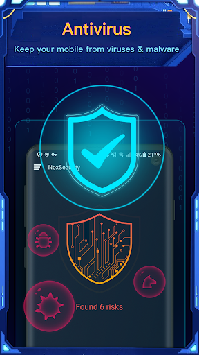 Nox Security - Antivirus Master, Clean Virus, Free screenshot 2