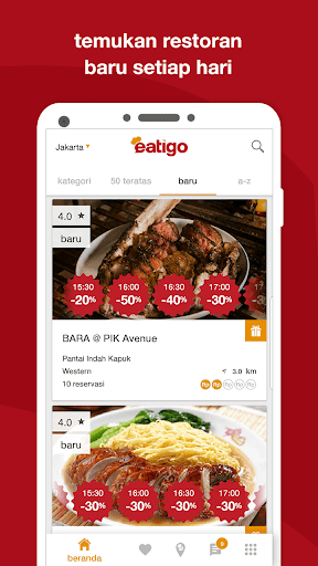 eatigo –  reservasi restoran dengan diskon screenshot 6