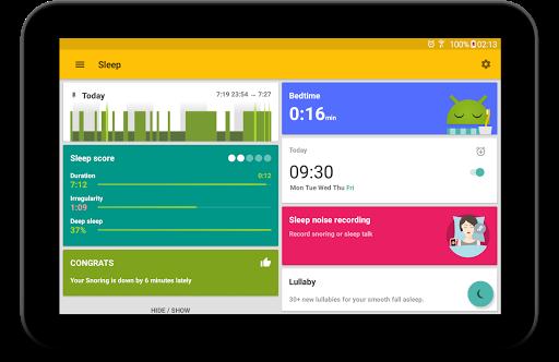 Sleep as Android: بايقاظك بهدوء من اجل صباح لطيف 11 تصوير الشاشة