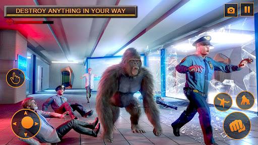 Monster Gorilla Attack-Godzilla Vs King Kong Games screenshot 7