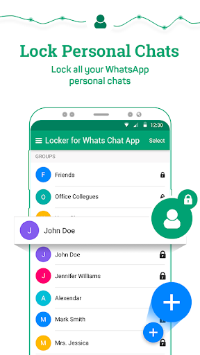 Locker for Whats Chat App - Secure Private Chat screenshot 4
