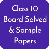 Class 10 CBSE Board Solved Papers & Sample Papers on 9Apps