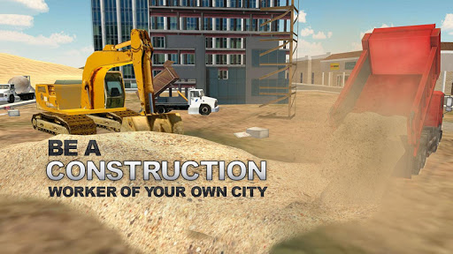Heavy Excavator Simulator PRO screenshot 3