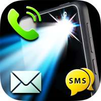 LED Flash Alerts on Call & SMS on 9Apps