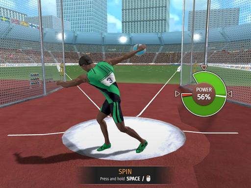Athletics Mania: Atletica leggera giochi estivi screenshot 20