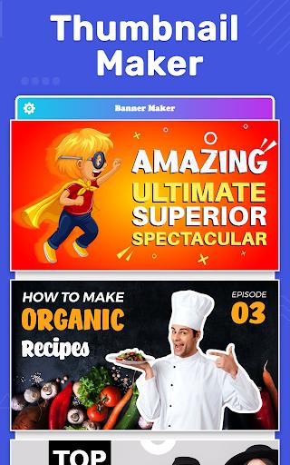 Banner Maker, Thumbnail Maker, Channel Art Maker screenshot 9