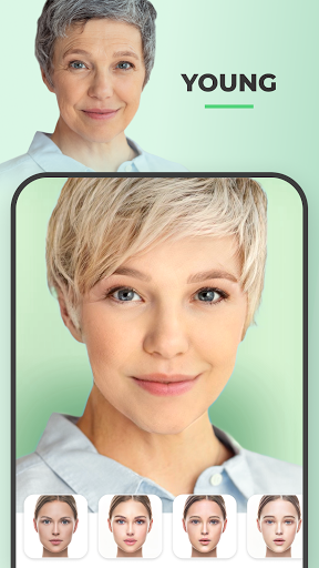 FaceApp - Face Editor, Makeover & Beauty App स्क्रीनशॉट 3