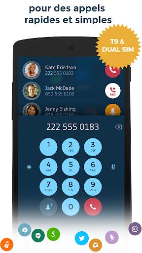 Contacts & Téléphone - drupe screenshot 3