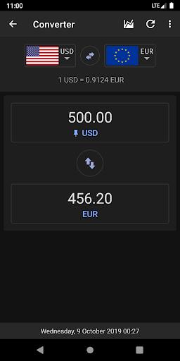 Exchange Rates & Currency Converter screenshot 2