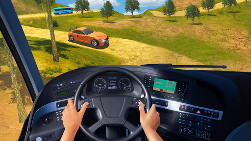 Modern Bus Parking Simulator - City Bus Games 2021 screenshot 3