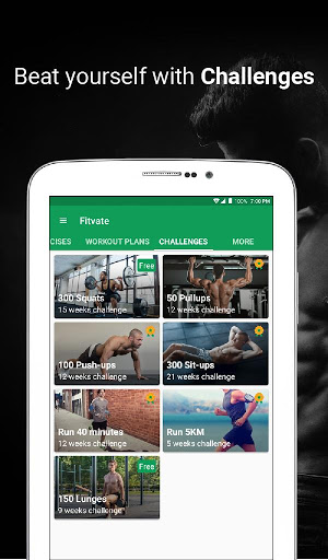 Fitvate - Home & Gym Workout Trainer Fitness Plans screenshot 11