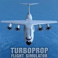 Turboprop Flight Simulator 3D on 9Apps