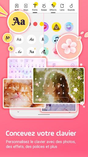 Clavier Facemoji Emoji:Clavier screenshot 1