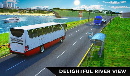 River Bus Driver Tourist Coach Bus Simulator screenshot 12